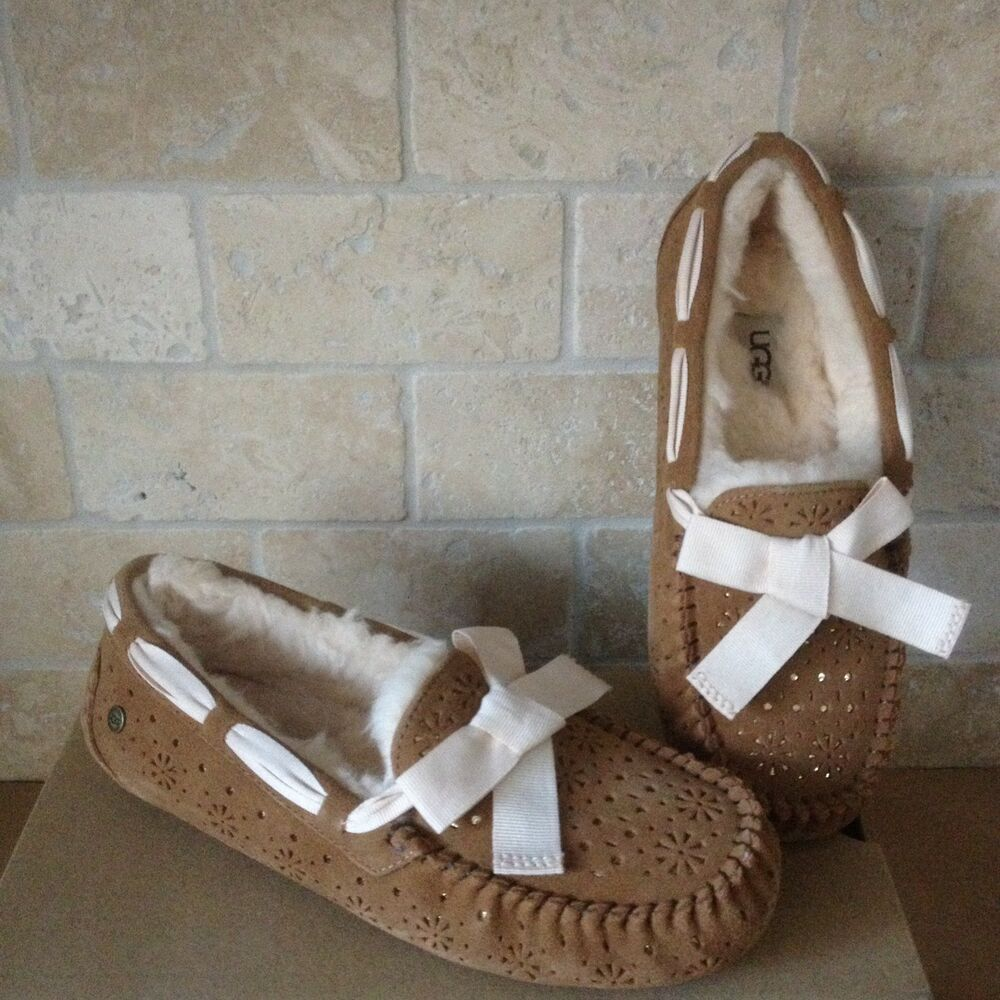 e356187261d eBay Advertisement) UGG Dakota Sunshine Perf Chestnut Suede Fur ...