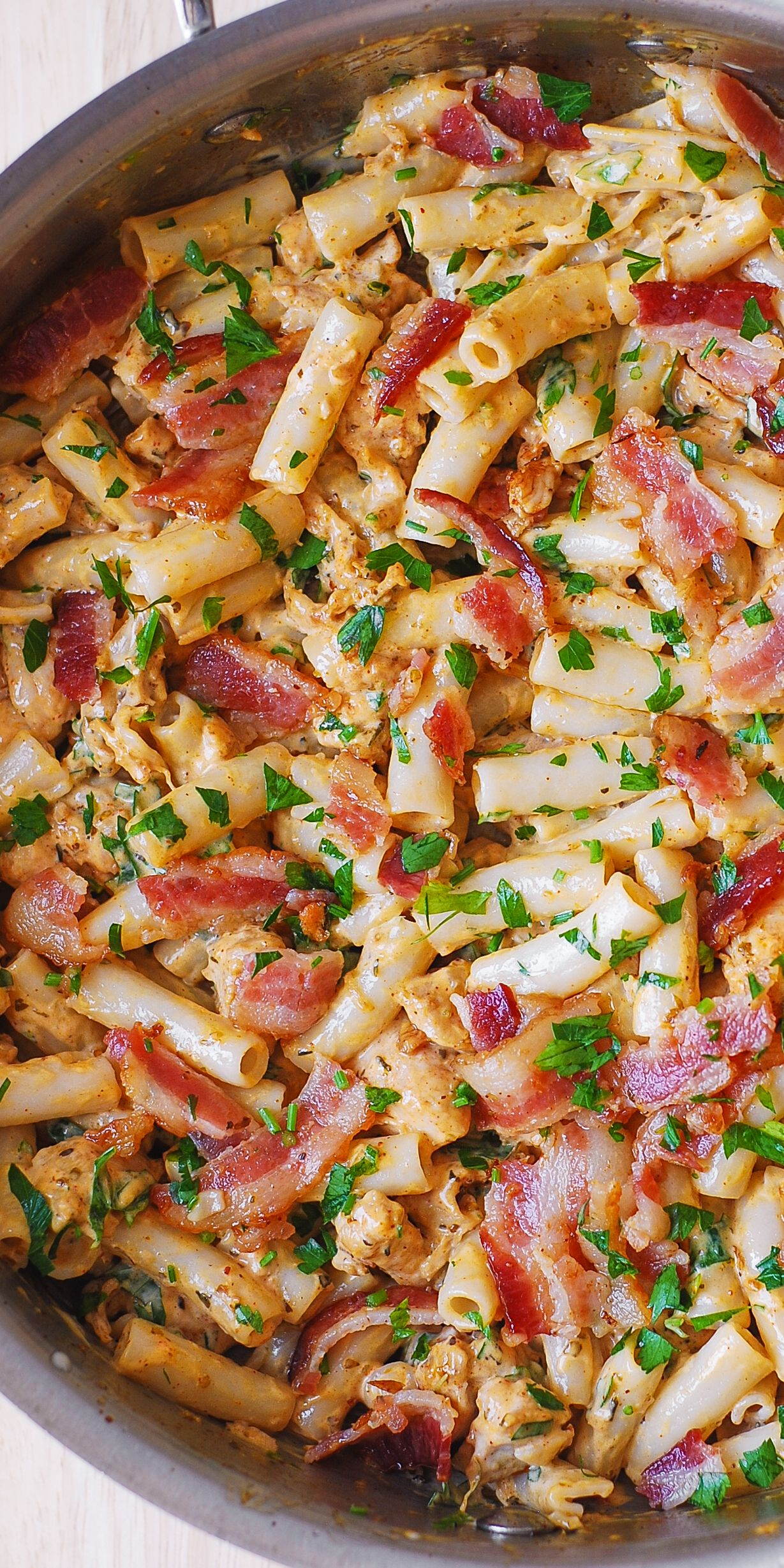 Garlic chicken bacon and ranch pasta easy comfort food dinner garlic chicken bacon and ranch pasta easy comfort food dinner recipe forumfinder