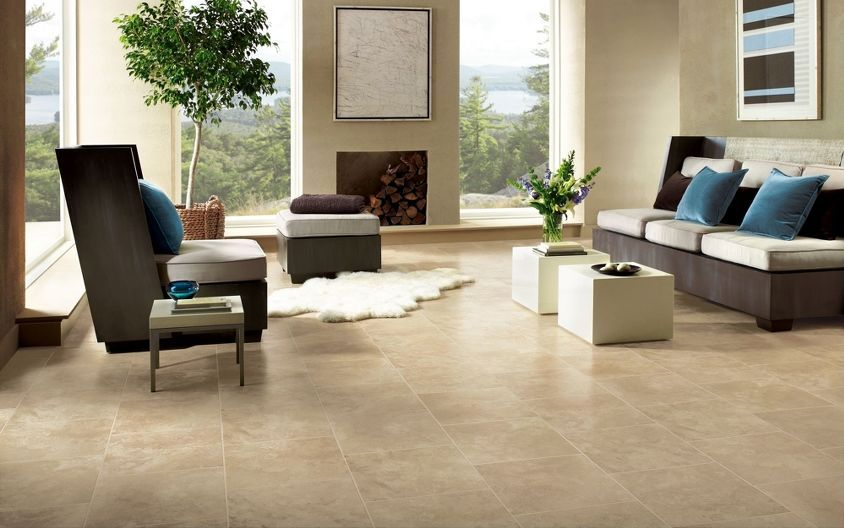 Travertine Floors Google Search My Living Family Room