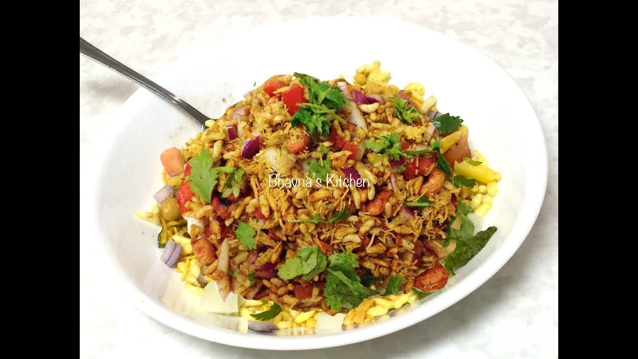 Mumbai Bhelpuri Video Recipe Indian Street Food Recipe