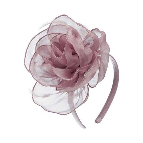 Scala LDF63 Metallic Organza Fascinator