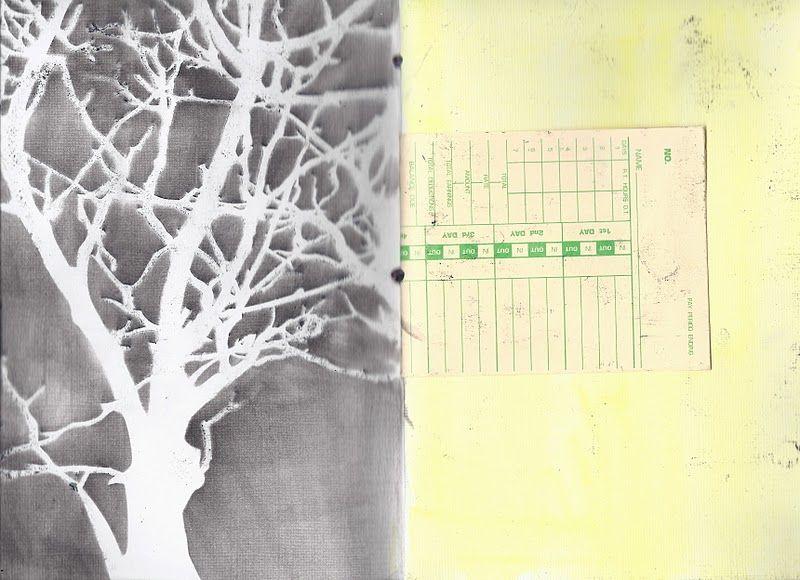 Tree Branch Stencil | des couleurs, du piment et quatre bras ...