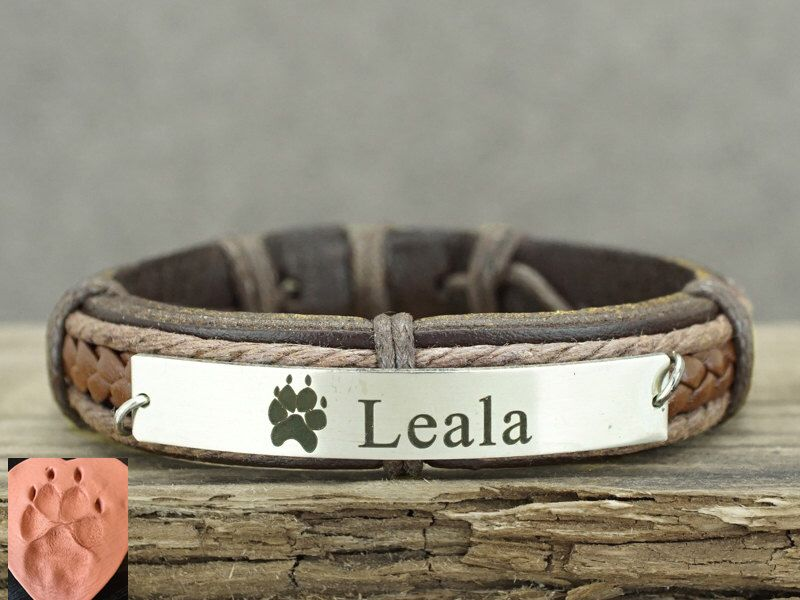 dog of urn il jewelry bracelet pet memorial loss kainsboutique