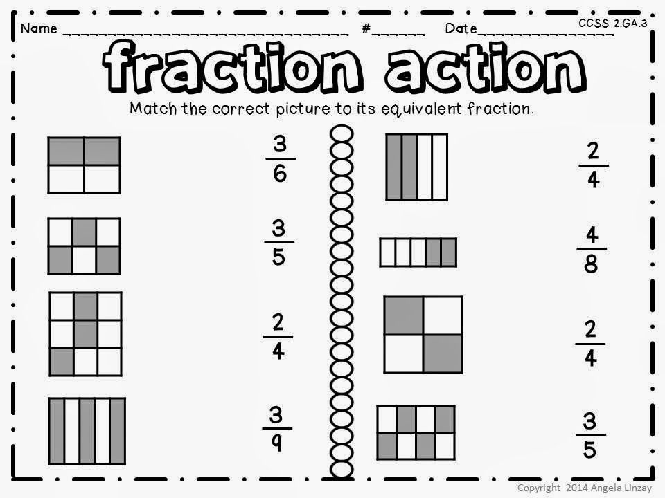 No Prep April Fool S Day Math And Literacy Fun Fractions Review