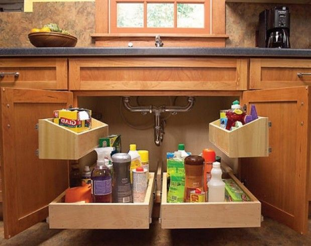 Kitchen Cabinets Ideas » Kitchen Corner Cabinet Organizers
