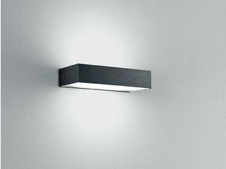 Applique led en acier inoxydable pour éclairage direct indirect