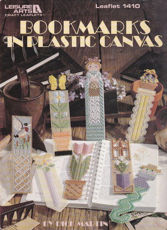 Leisure Arts Craft Leaflets Plastic Canvas