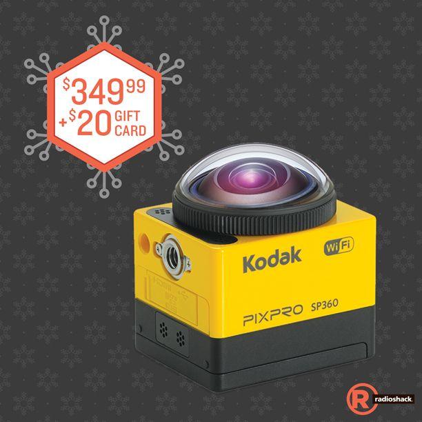 This #BlackFriday, When You Buy A Kodak PixPro SP360 For