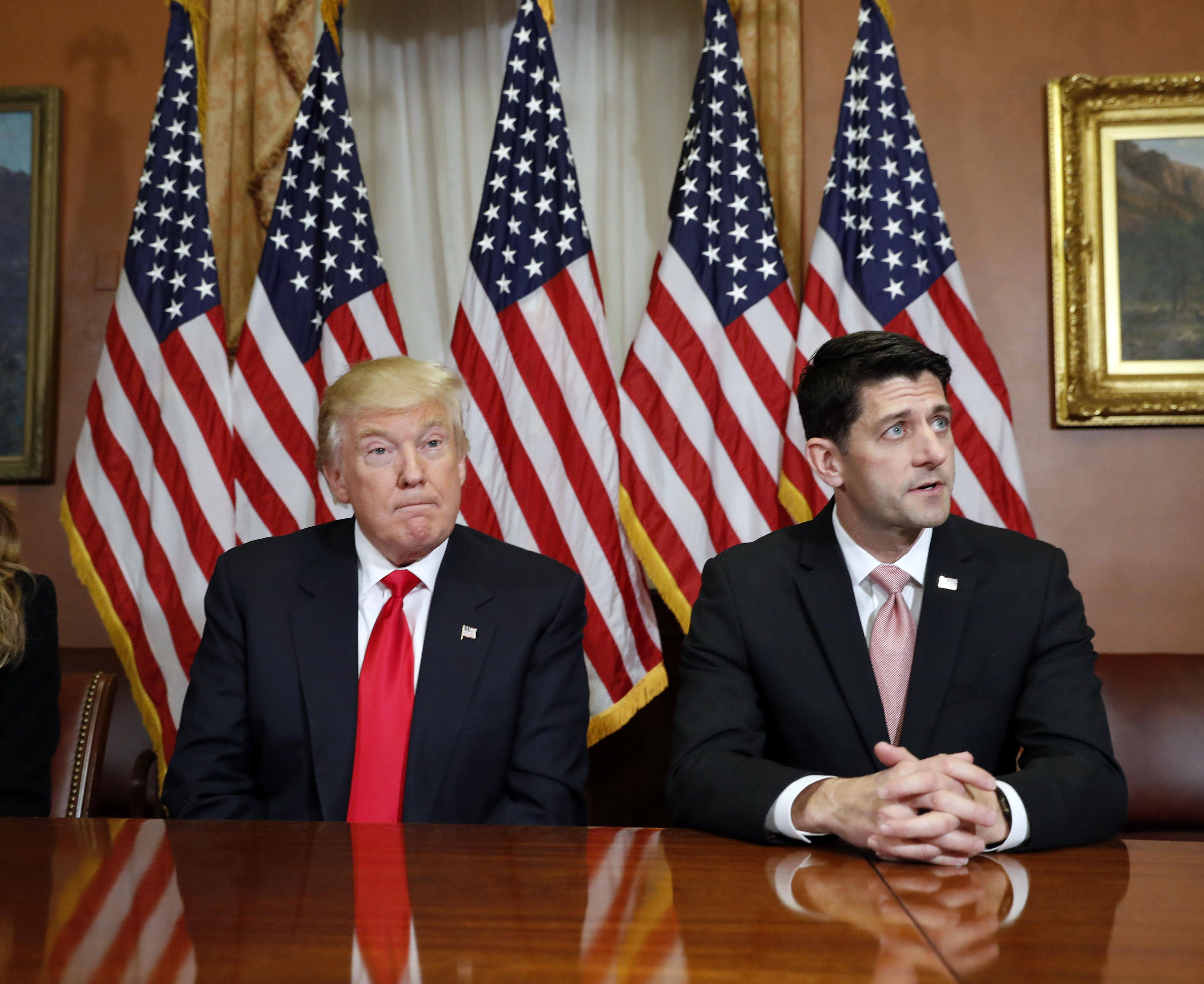 """Trump says he's """"disappointed"""" with congressional GOP #Politics #iNewsPhoto"""