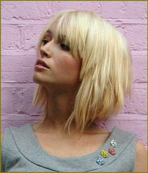 Blonde Bob Frisuren Mit Pony Neue Frisuren 2015 Hair Cuts In