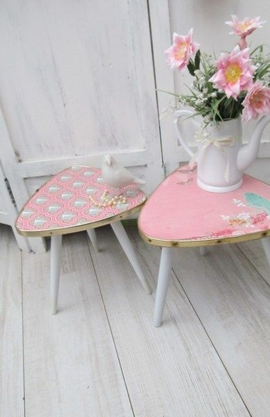 Kleiner Tisch in Rosa | Ideas for a future Home | Pinterest ...
