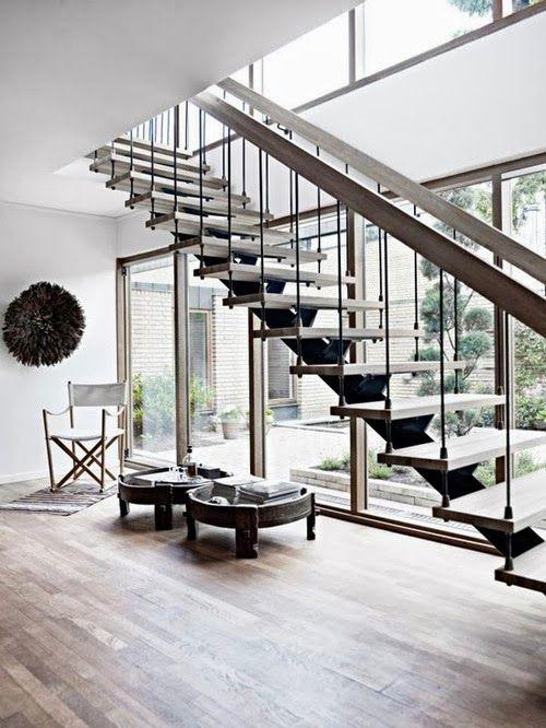Best 05 15 01 3 Beautiful Rustic Industrial Floating Stairs 640 x 480