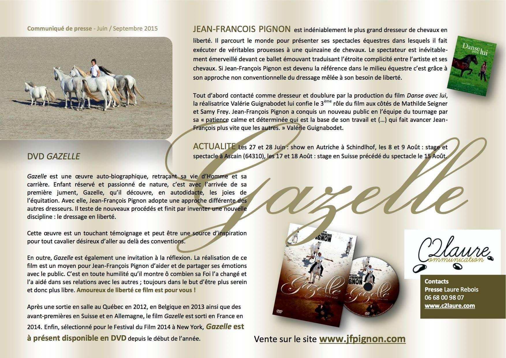 gazelle dvd