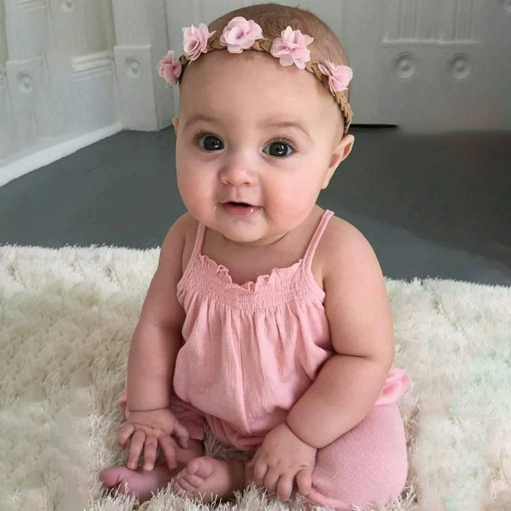 Handmade Reborn Toddler Girl Doll with Dress Real Life Child Doll 3 Months Baby