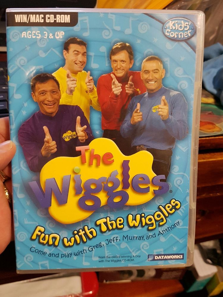 The Wiggles - Fun With The Wiggles - PC GAME - FREE POST