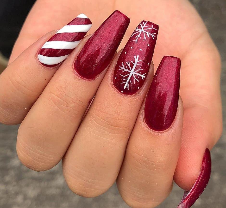 Unghie Natale 2018: idee nail art per una manicure delle ...