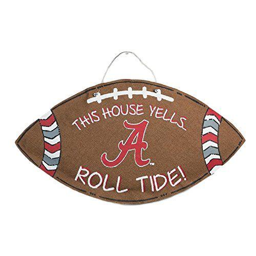 Alabama Crimson Tide Burlee Home Decor Wreath Sports Teamu2026