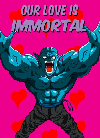 Dragon Ball Z Valentine Cards Quotes Humor Pinterest Dragon