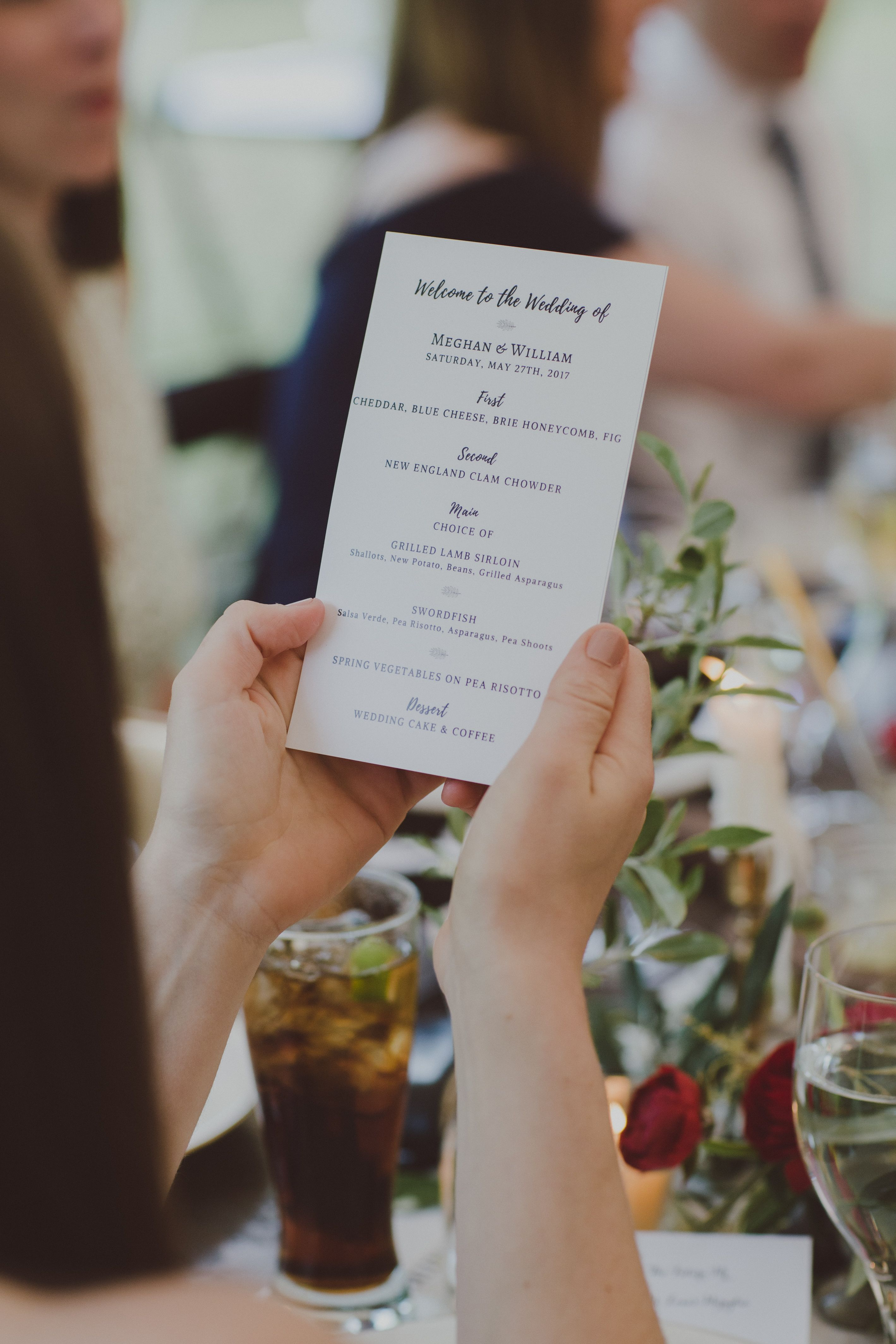 #menu #weddingreception #KGEvents&Design