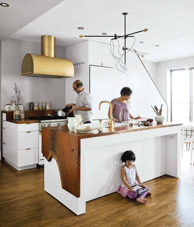 Live Edge Floor Mirror That Stores Jewelry Kitchen Design Brooklyn Kitchen Kitchen Inspirations