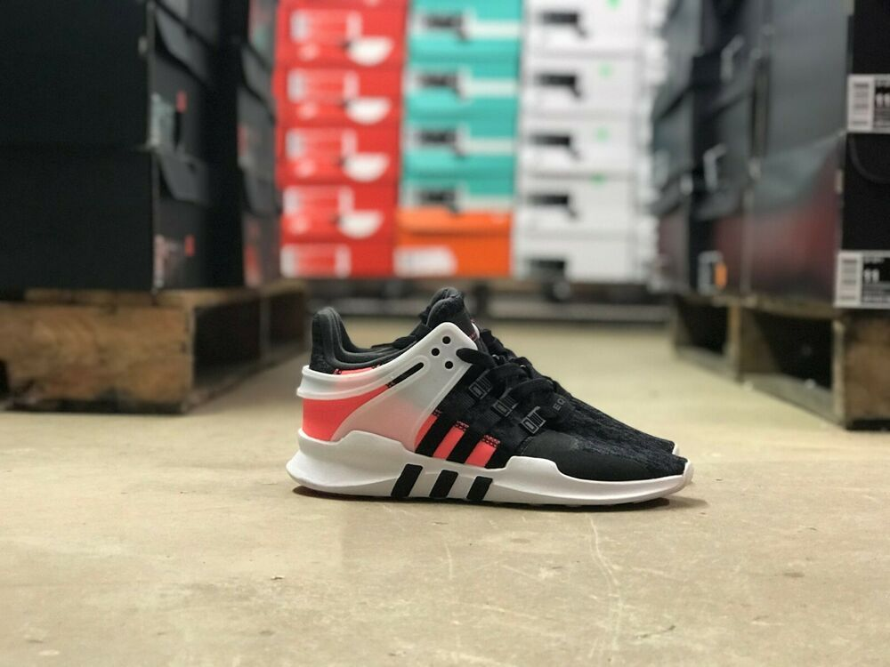 new arrival 44225 ad4de Adidas EQT Support ADV 91-16 Kids Shoe Black/Red BB1302 Size ...