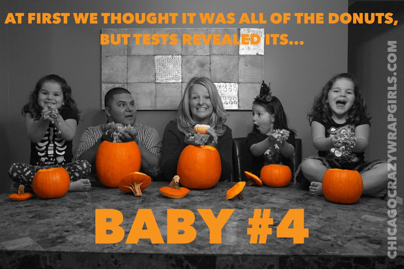Happy Halloween Our Pregnancy Announcement For Baby Number  Maternity Pregnancy Ideas Announcement