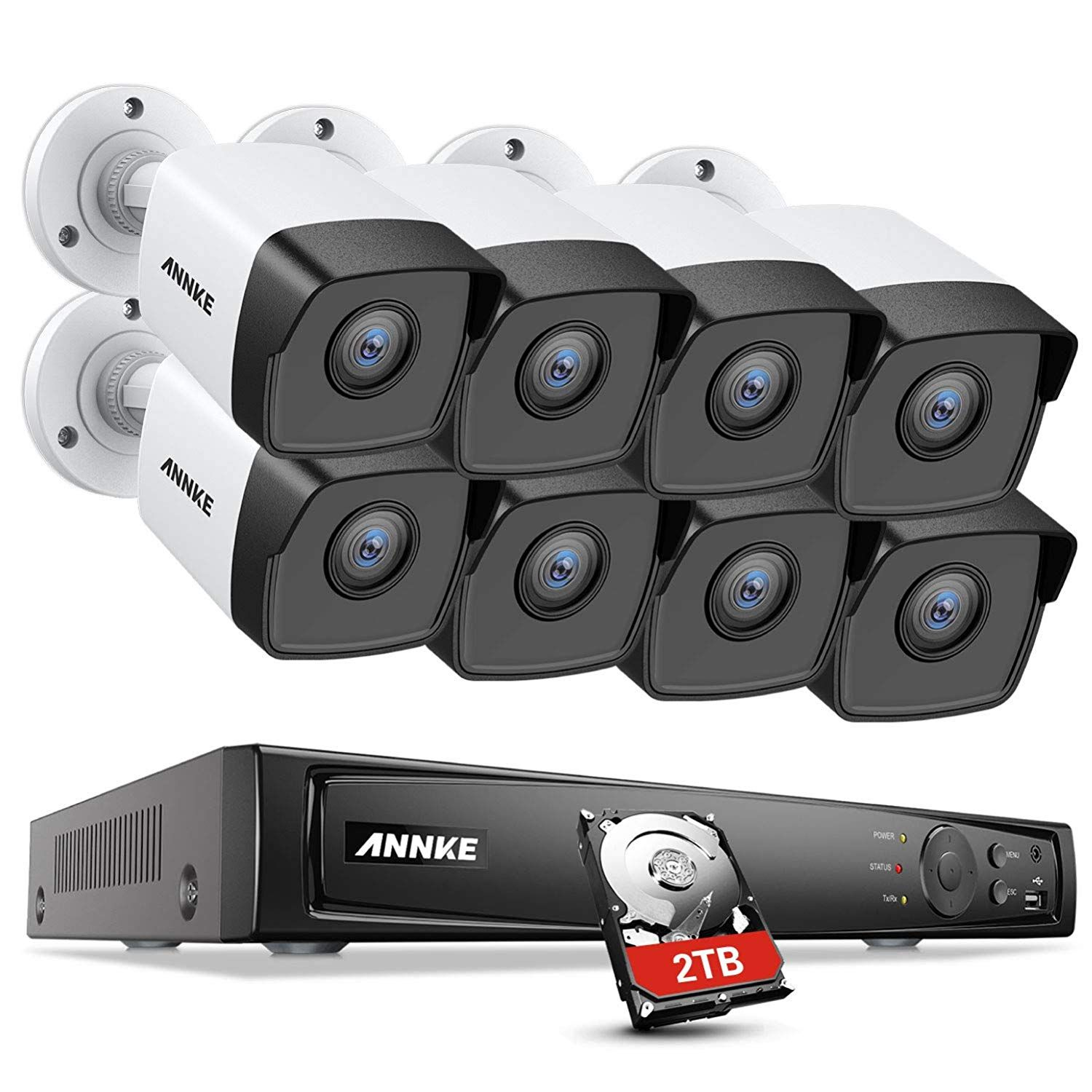 Annke 5MP PoE Security Camera System: Inimitable Performance