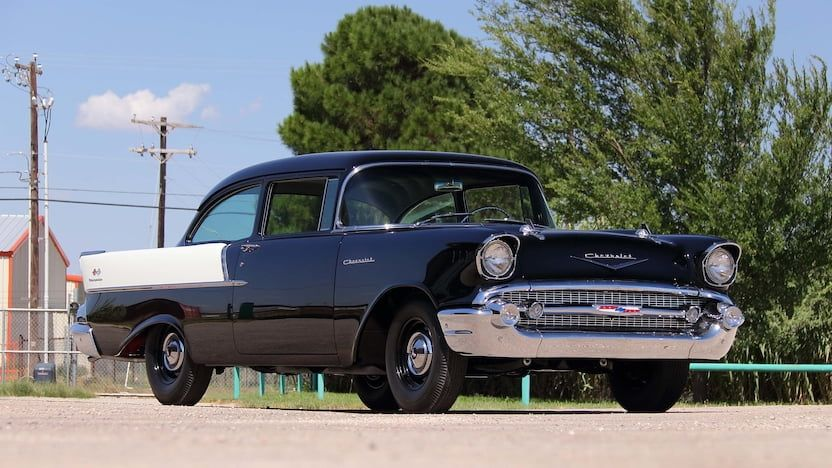 1957 Chevy 150 Mecum Auctions Dallas 2019 Chevrolet Chevrolet 1957 Chevrolet Chevy