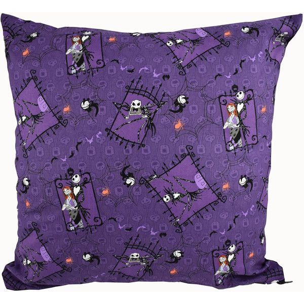 Nightmare Before Christmas Cushion Cover. Ideal For Creepy Home Decor,... (