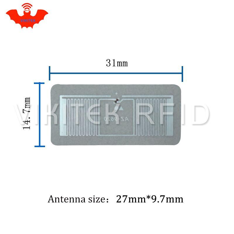 (^^Free samples^^)UHF RFID tag Alien 9620 inlay 915mhz ...