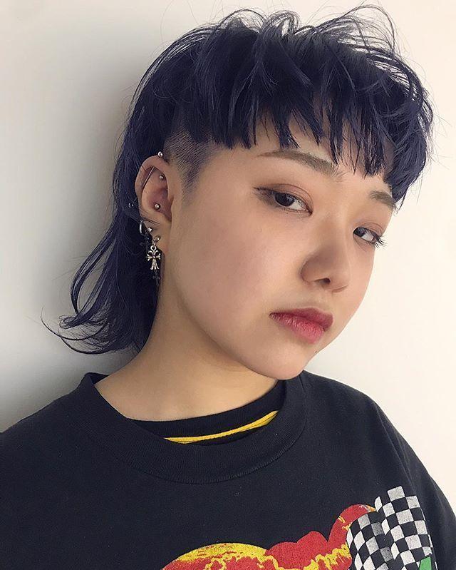 Photo of Representante de KO-JI / XENA Shibuya en Instagram :. Mash wolf cut .. El color es …