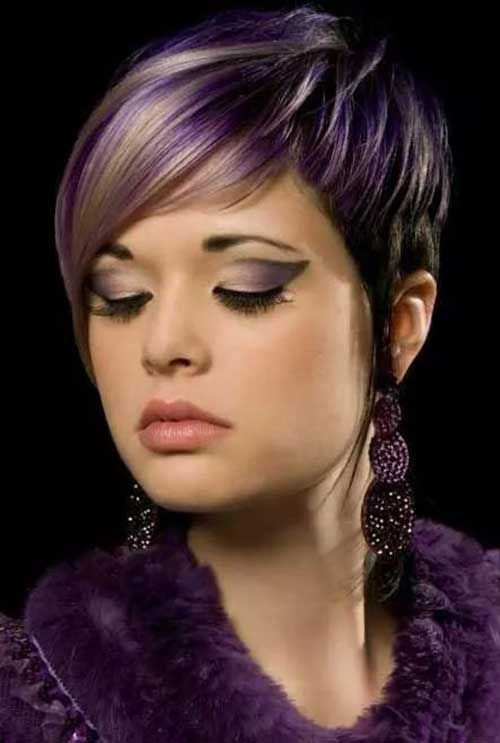 Beautiful Unique Hair Dye For S With Trendy Hairstyles