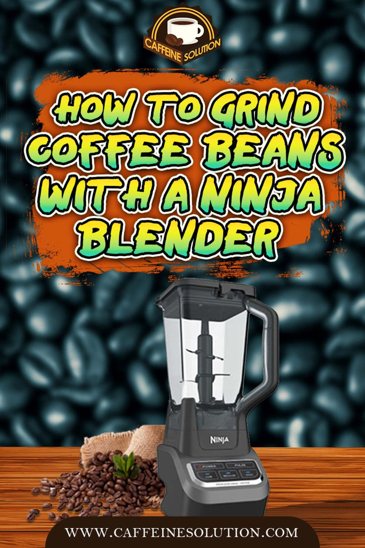 Can you grind coffee beans in a ninja blender grinding