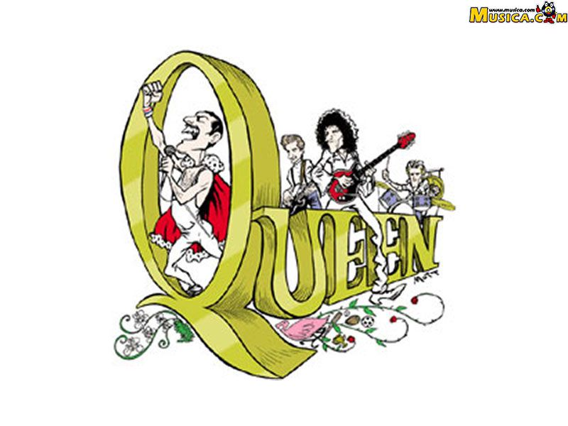 Download Queen Logo Wallpaper Di 2019 Musikal