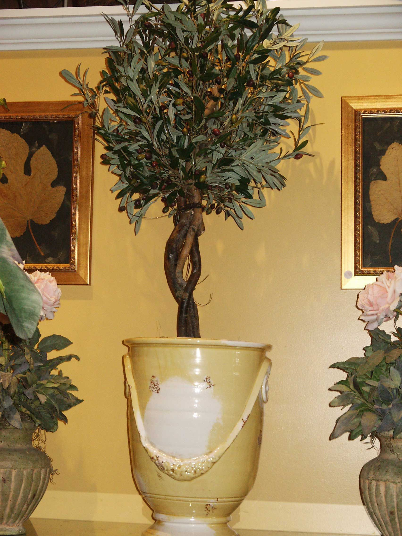 Love The Topiary And The Tuscan Looking Pot This Is