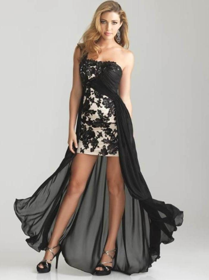 South ruched evening dress
