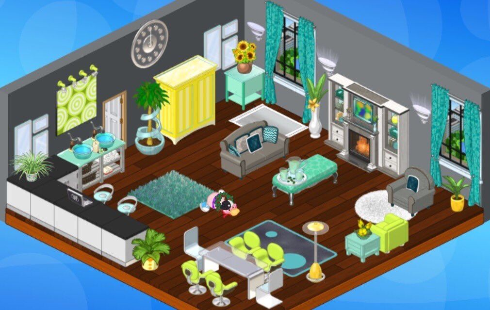 Pin By Meagan On Webkinz Rooms In 2020 House Styles Room Design