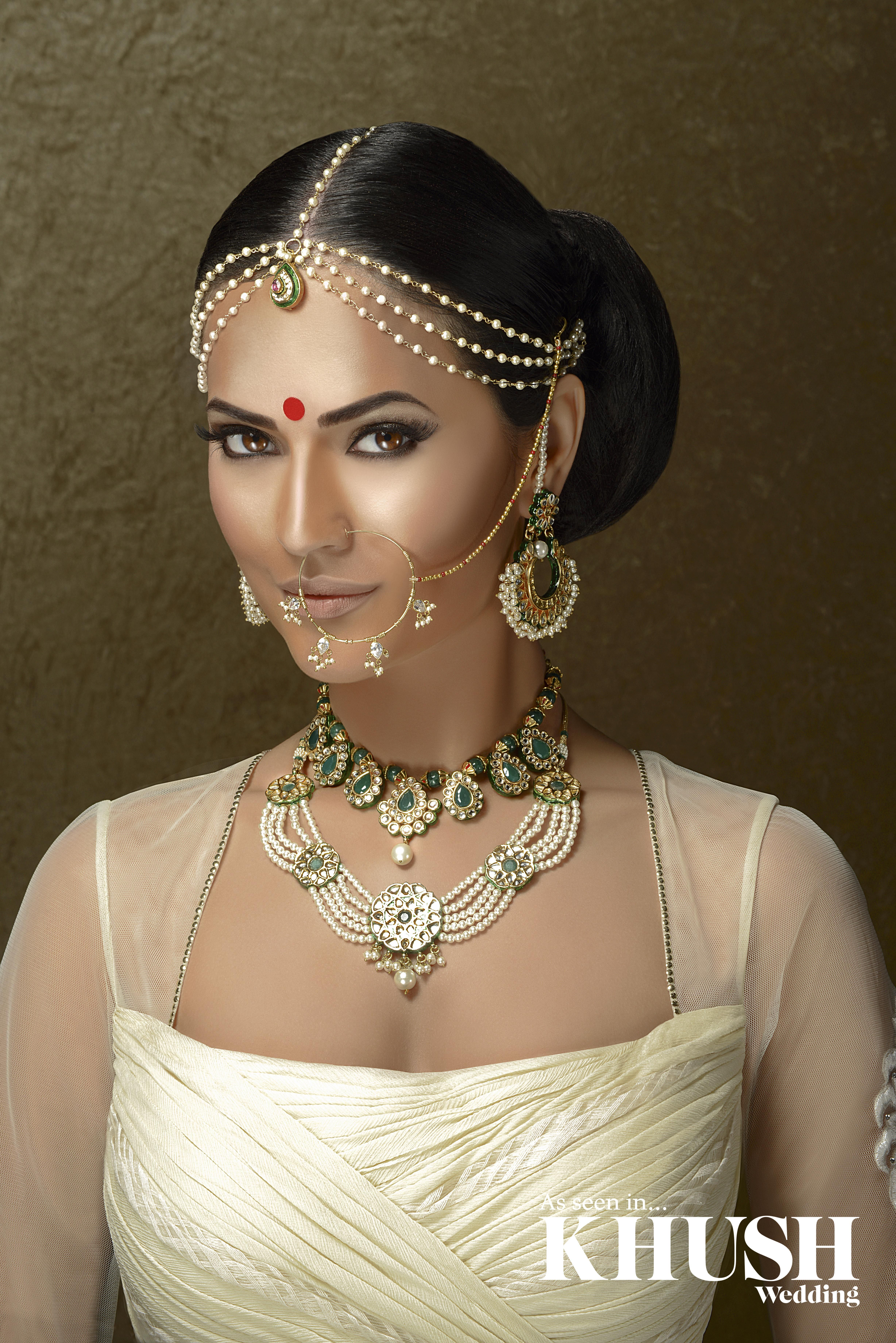 Beautiful traditional bridal jewellery by red dot jewels for Indian jewelry queens ny