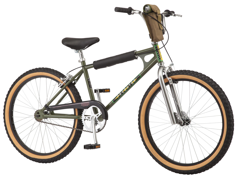 Netflix Stranger Things Lucas Bmx Bike 24 Inch Wheels Single Speed Green Walmart Com In 2020 Bmx Bikes Bmx Lucas Stranger Things