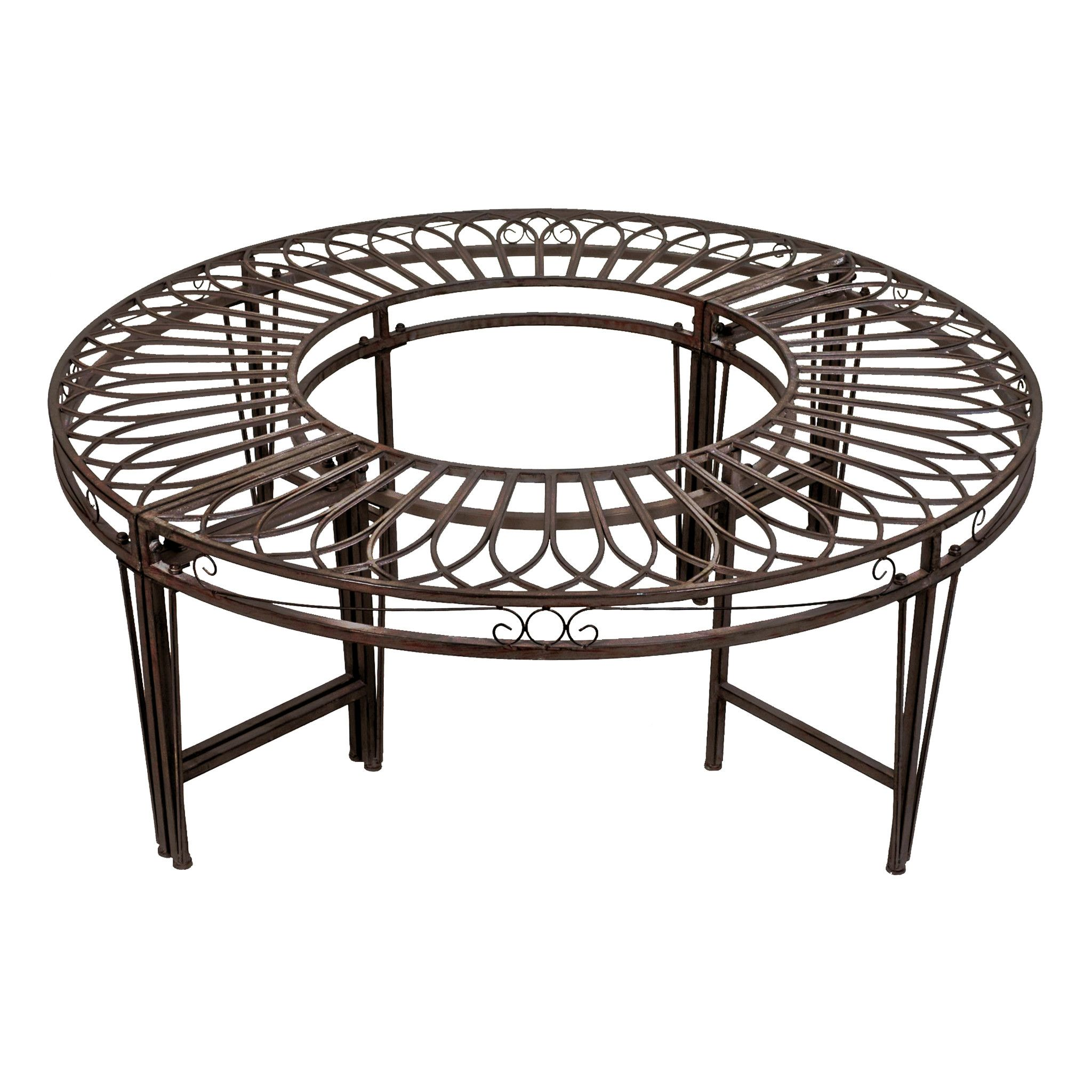Gothic Roundabout Steel Garden Bench  Benches for sale, Design