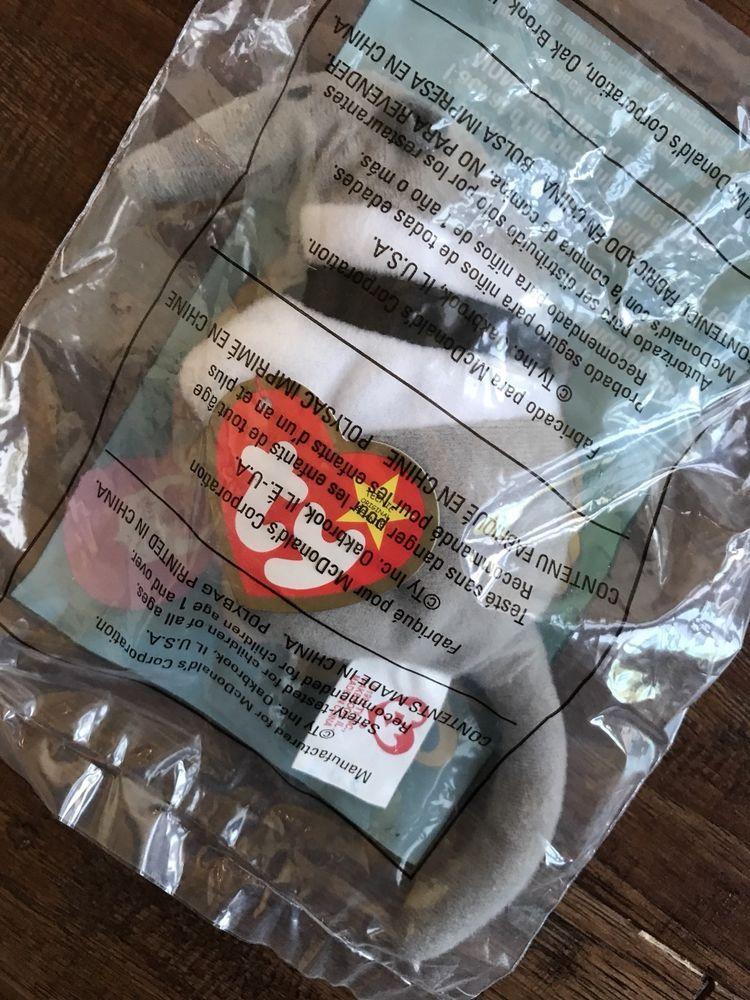 9b70c8c8b0c Nip 1999 mcdonalds ty teenie beanie baby babies antsy anteater  2 happy  meal toy