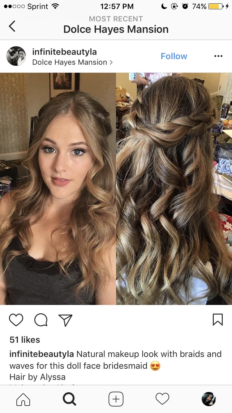Pin by Emily Kidd on prom aesthetic   Cool hairstyles ...