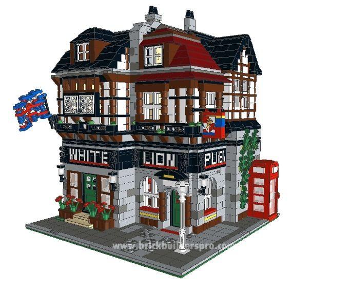 The White Lion English Pub Pdf Instructions Lego Instructions