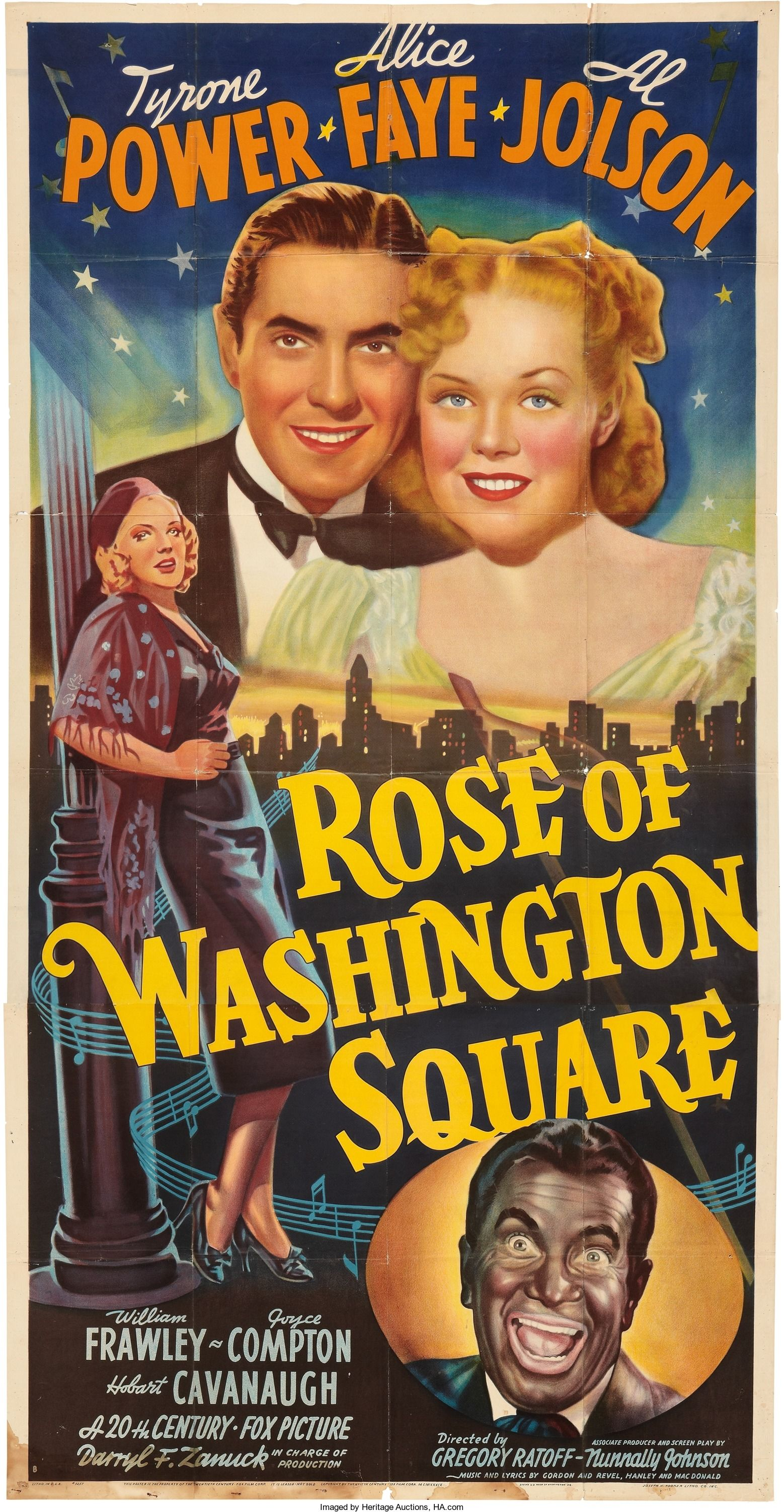 Rose Of Washington Square 1939 Cartazes De Cinema Filmes E Cinema