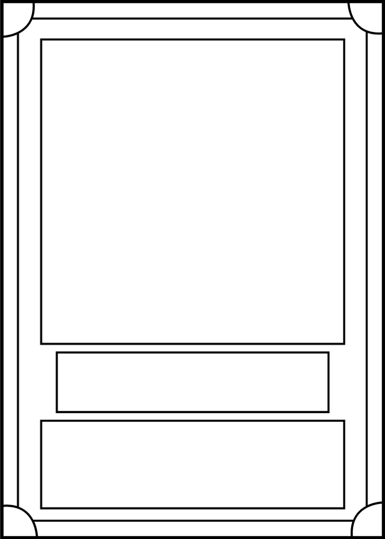 trading card template front by blackcarrot1129 making cards for each
