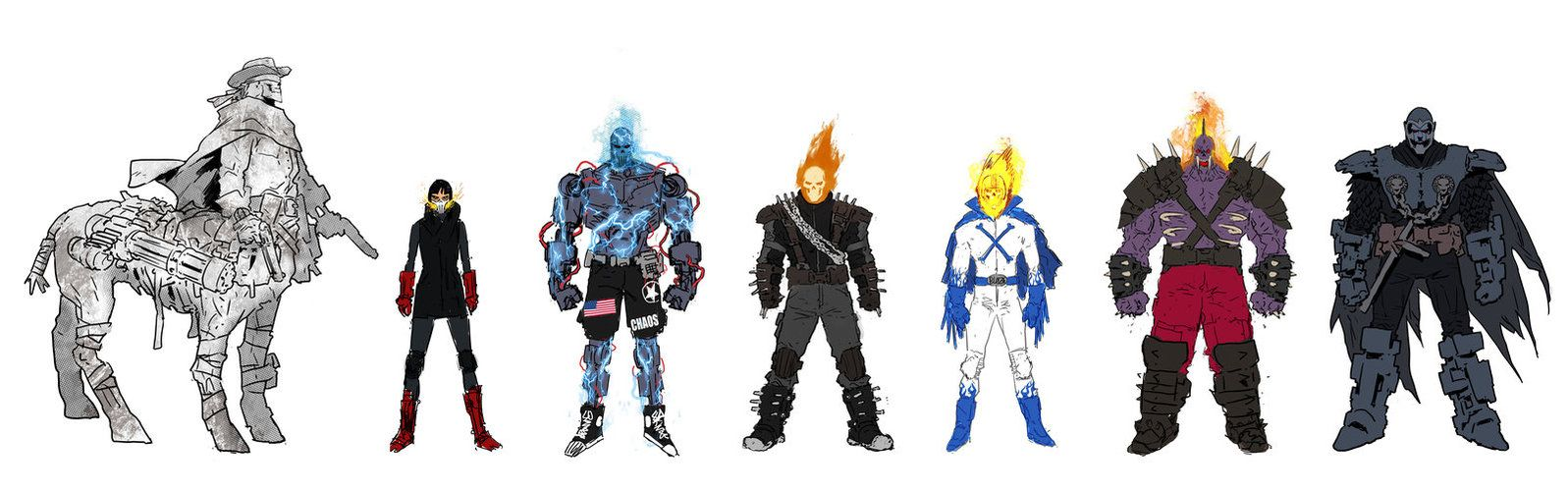 ghost_racers_characters_by_juantomajok-d8n1kdg.jpg (JPEG Image, 1597×500 pixels)