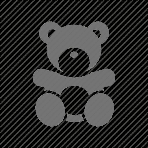 Bear Doll Girl Infant Kid Teddy Toy Icon Download On Iconfinder Kids Icon Teddy Toys Bear Doll