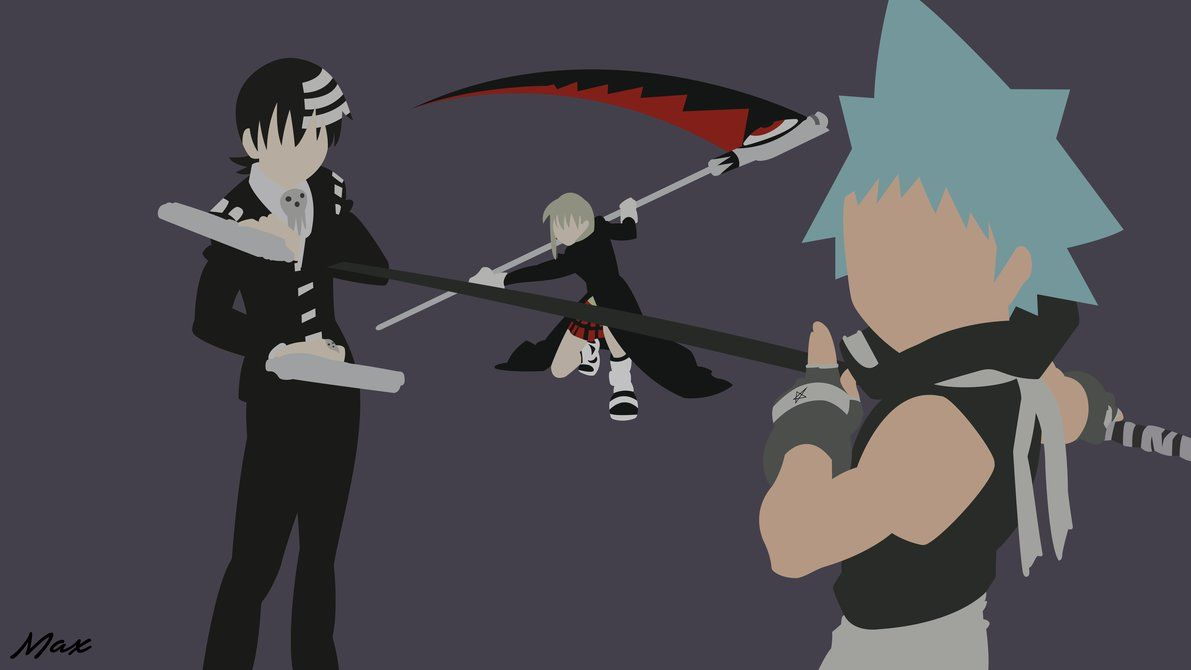 Soul Eater Minimal Wallpaper By Max028 Soul Eater Minimal