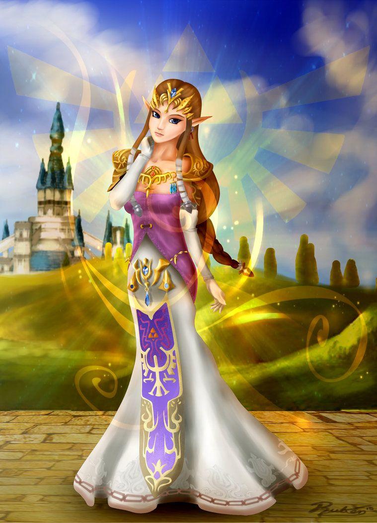 Princess Zelda by Rux--Xan on DeviantArt