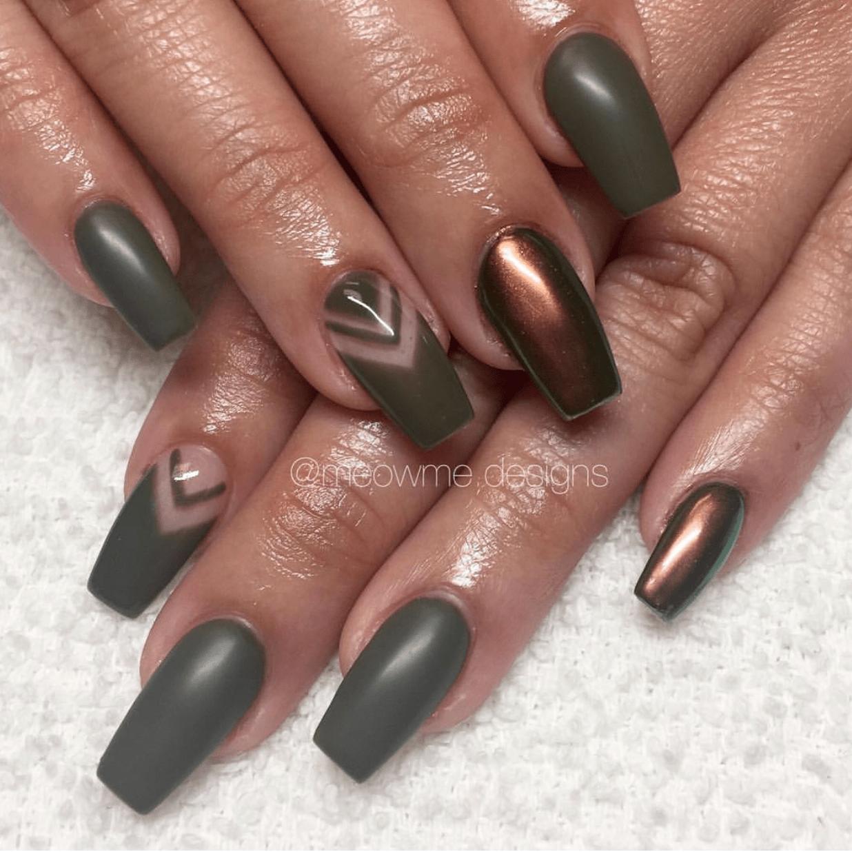 Camouflage Nail Designs 5 - 31 Camouflage Nail Designs Nail Art Pinterest Nails, Nail